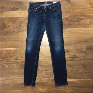 Rag & Bone Skinny Jeans-Dark Wash